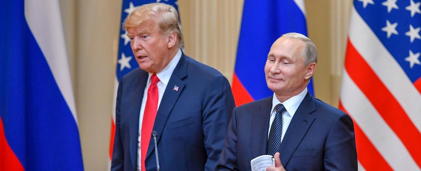 """Usa, Trump annuncia il ritiro dal trattato nucleare con la Russia sui missili a medio raggio. Cremlino: """"Decisione pericolosa"""""""