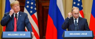 """Incontro Trump-Putin, gli Usa sotto choc per frasi su Russiagate: il presidente rettifica ma ormai è """"distrupter-in-chief"""""""