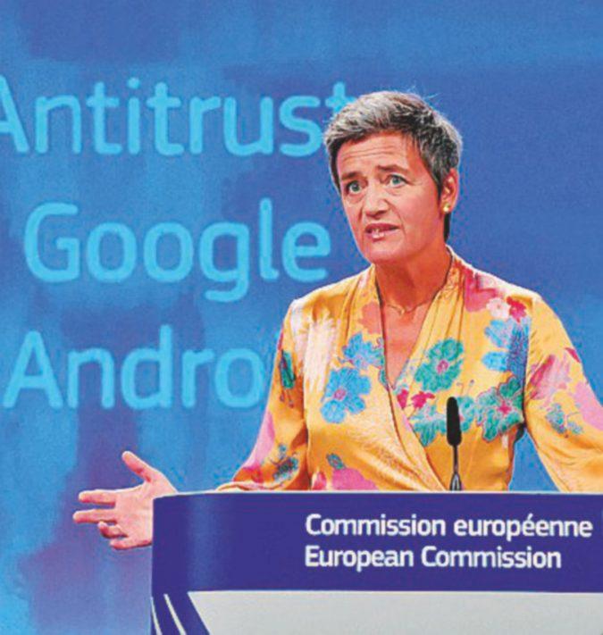 App Android, la multa dei record per Google