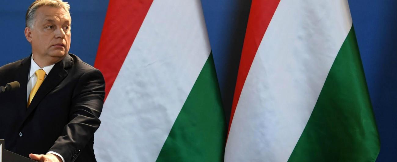 """Orbán, Parlamento Ue a favore delle sanzioni all'Ungheria. Ora tocca ai capi di governo. Pd, FdI, LeU: """"Conte cosa farà?"""""""