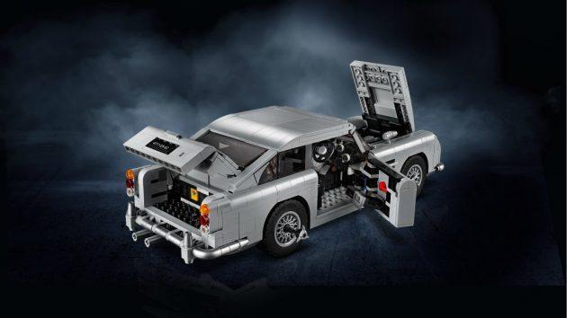 Aston Martin DB5, eccone una di Lego per gli appassionati di