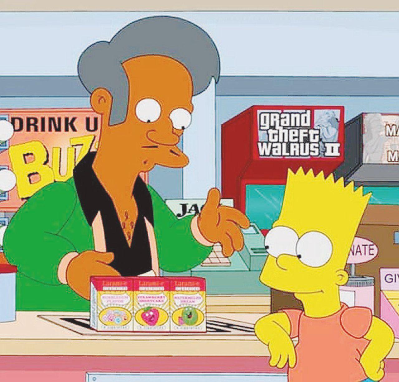 Apu, l'indiano dei Simpson e il politicamente ridicolo