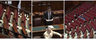 Ilva, c'è l'interpellanza urgente a Di Maio ma l'Aula sembra già in ferie. Banchi vuoti tra M5s, Lega, Pd e FI