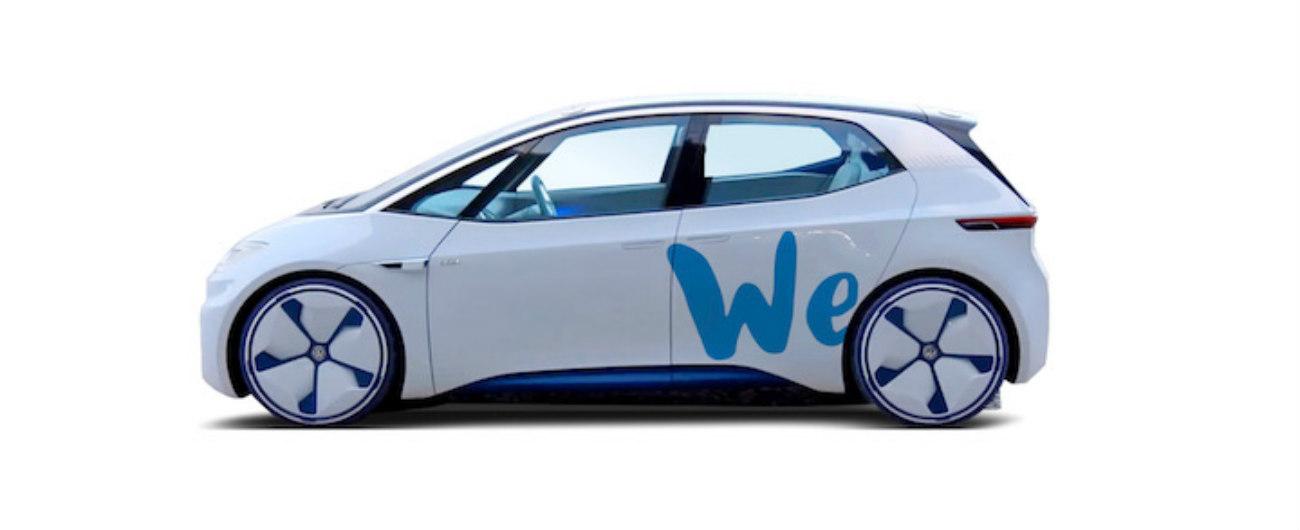 Volkswagen We, cosa c'è dietro al car sharing