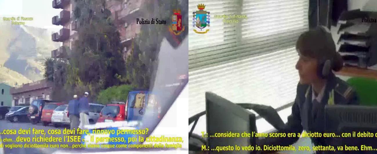 Palermo 9 arresti ai migranti offrivano tutta una gamma for Permessi di soggiorno per lavoro