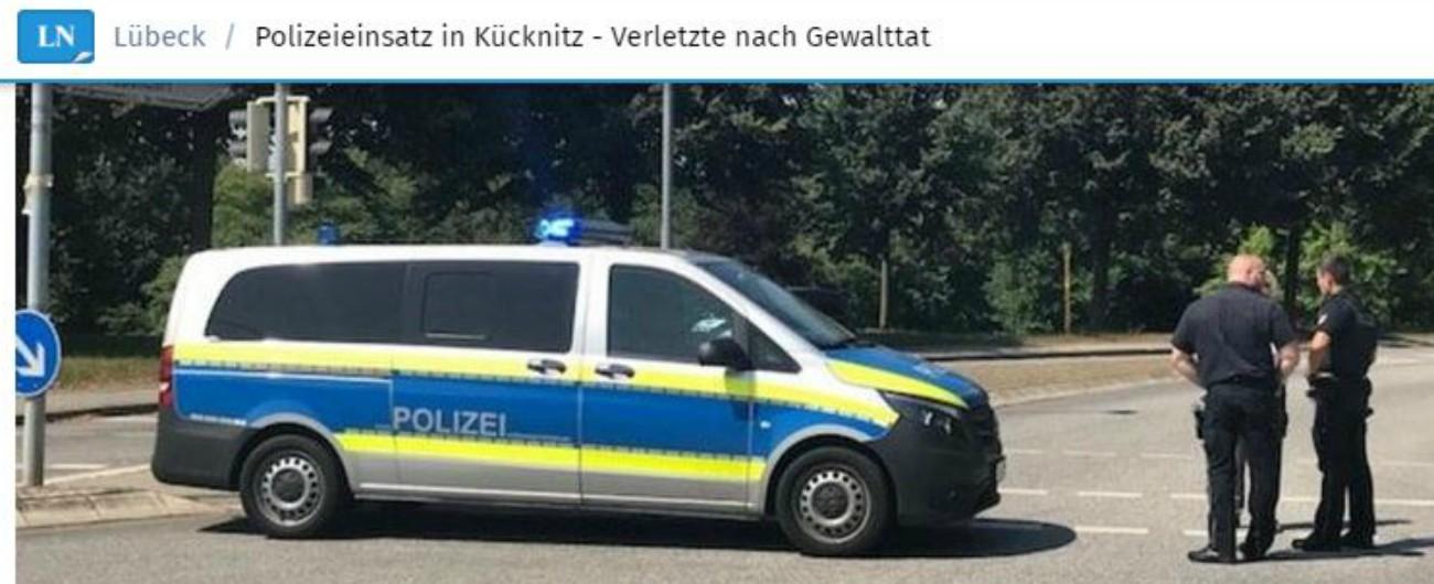 """Germania, accoltella passeggeri su un bus a Lubecca: """"14 feriti, di cui due gravi"""". Uomo fermato, dice di essere iraniano"""