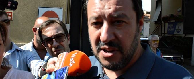 """Savona indagato, Salvini: """"Persona pulita e onesta, uno di quelli che stimo di più. Spero giustizia sia veloce"""""""