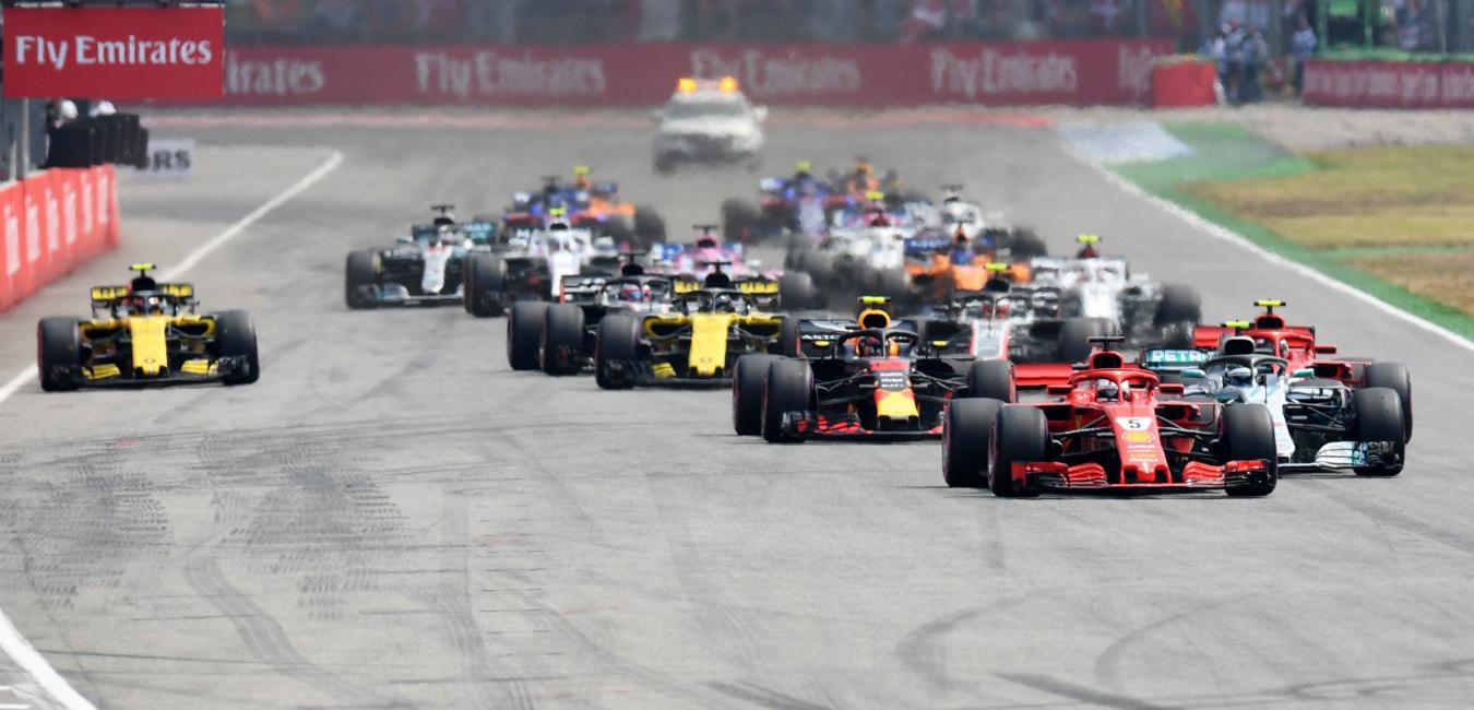 F1 Gp Germania: vince Hamilton in rimonta, Vettel va fuori con la pioggia. Ribaltata la classifica mondiale