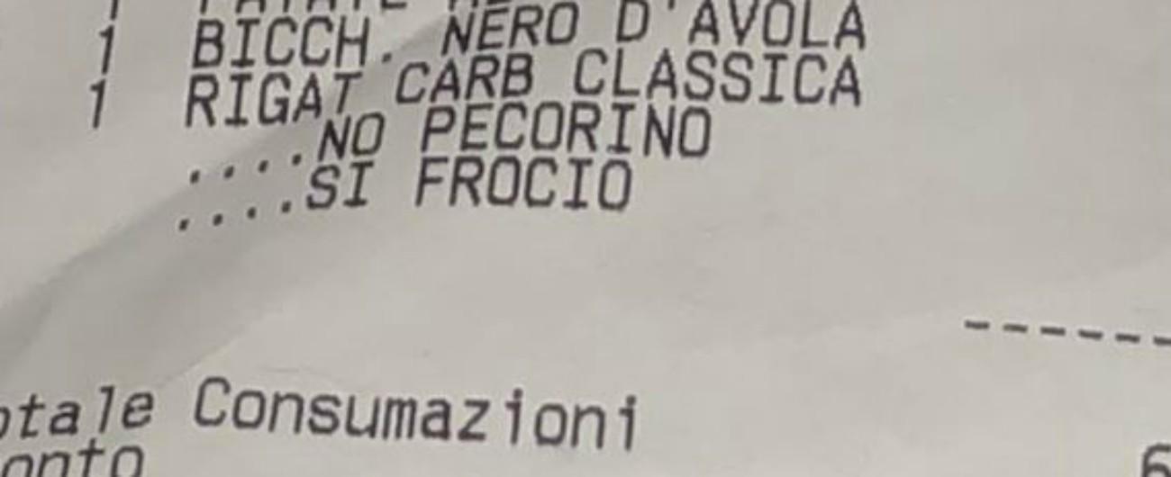 Scontrino omofobo, quel 'sì frocio' è la prova che l'Italia odia chiunque non sia maschio, etero e bianco