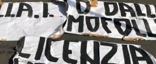 Scontrino omofobo, minacce e uno striscione di Forza Nuova contro i titolari della Locanda Rigatoni