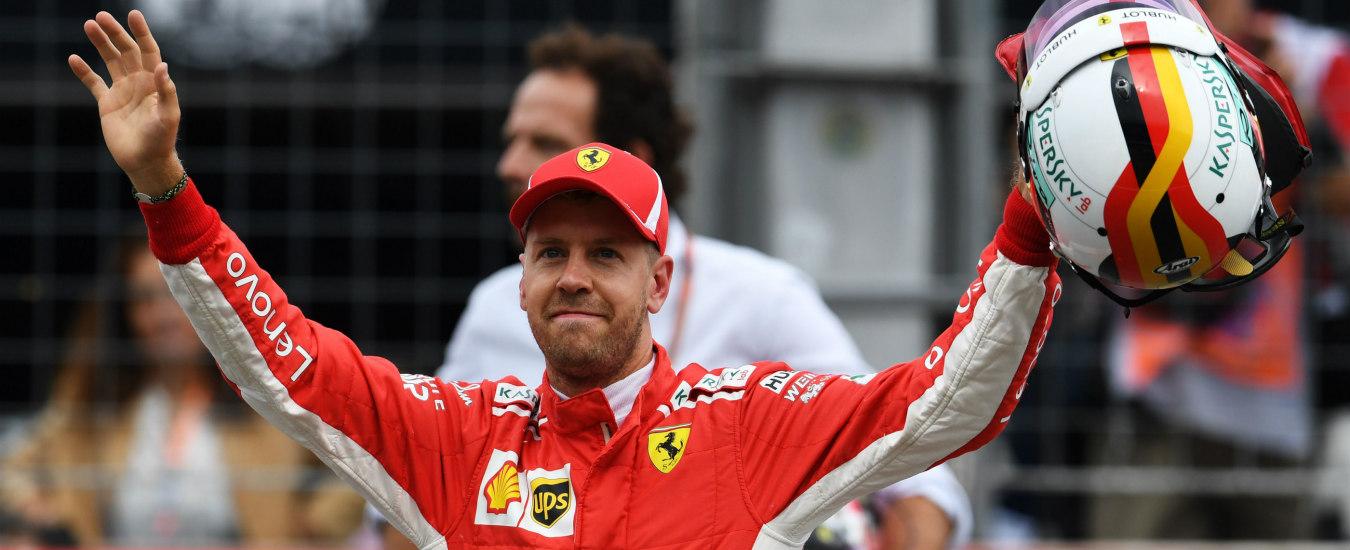 F1 GP Germania, qualifiche: Vettel in pole, disastro Hamilton [Diretta da Hockenheim e orari tv Sky e Tv8]
