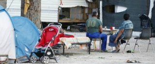 Roma, sgombero del campo rom Camping River: famiglie separate, alloggi solo per una decina. Così molte hanno rinunciato