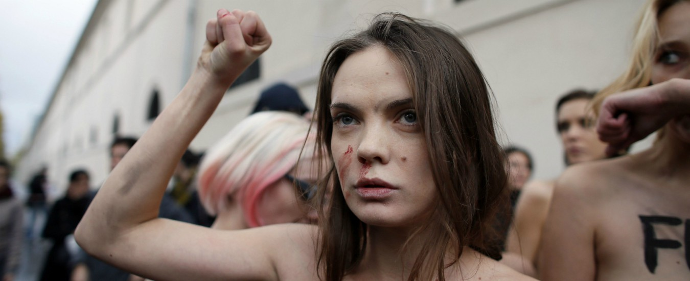 Femen in lutto, il suicidio di Oksana è una denuncia