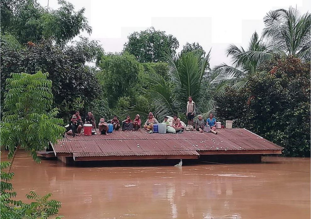 Laos, crolla diga nel sud-est: centinaia i dispersi