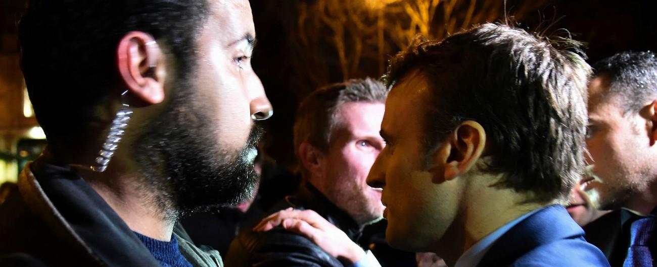 """Caso Benalla, Macron: """"Non è il mio amante e non ha codici nucleari. Ma mi sono fidato di lui"""""""