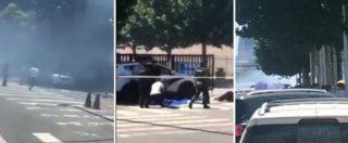 Cina, esplosione davanti all'ambasciata Usa a Pechino: tenta di lanciare bomba, ferito attentatore