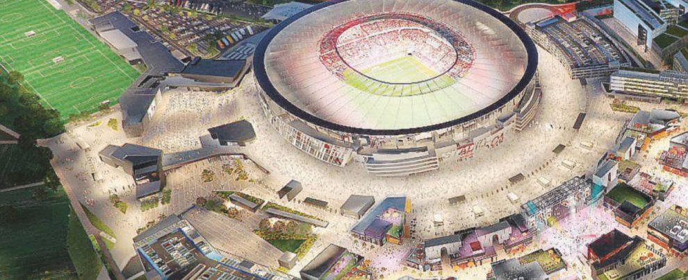 Stadio della Roma in pausa. Un nuovo studio sul traffico