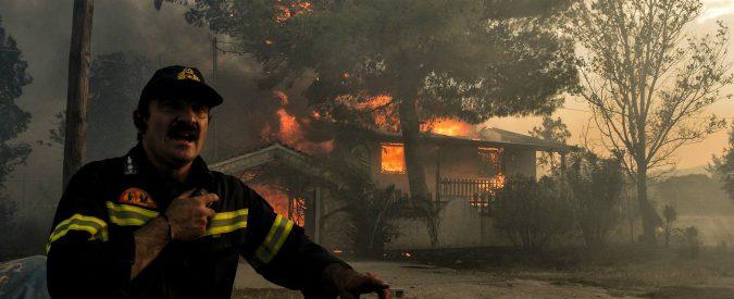 Incendi Grecia, chi è il vero colpevole