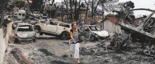 """Incendi Grecia, abusivo il 49% delle case distrutte: Mati la capitale degli illeciti. """"Le vie di fuga tombate con il cemento"""""""