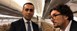 """Air Force Renzi, Di Maio e Toninelli salgono sull'aereo: """"Ci sono 300 posti e Renzi voleva anche camera da letto e vasca"""""""
