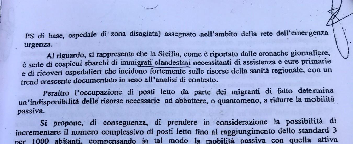 Sicilia, non sono gli 'immigrati clandestini' che affossano la Sanità. Ma anni di sperperi e scandali