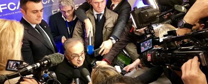 """Sergio Marchionne e il quarto potere. Il doppio binario della comunicazione """"maglionata"""""""