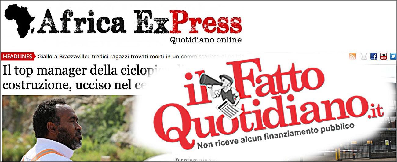 Africa ExPress e ilfattoquotidiano.it, al via da oggi la collaborazione. Obiettivo: uno sguardo più ampio sul mondo