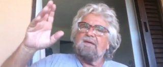 """Beppe Grillo: """"Serve il reddito di base europeo per tutti i cittadini Ue. Almeno 200 euro a testa"""""""