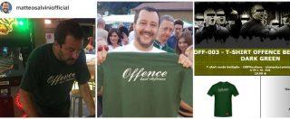 Salvini, spot alla t-shirt della destra nera In catalogo anche la Decima Mas e le SS