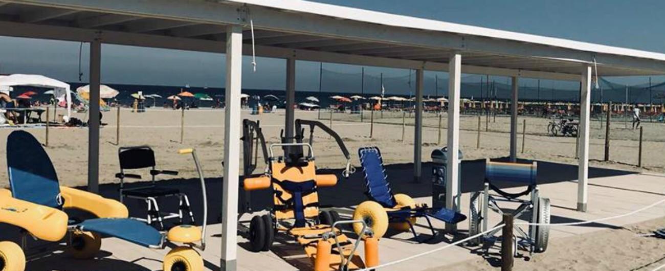 Ravenna, realizzato il primo stabilimento balneare in Emilia-Romagna interamente per persone con disabilità