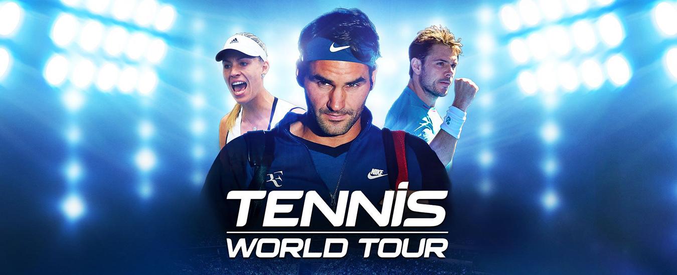 Tennis World Tour: il nuovo titolo simulativo di tennis delude le aspettative