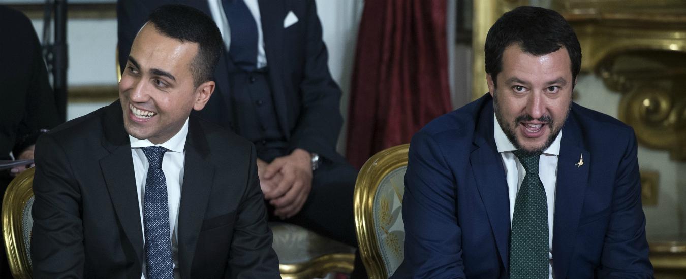 """Manovra, scontro di cifre. Salvini: """"Al reddito 8 miliardi"""". M5s: """"Si è confuso, sono 10. Altri 7 per la quota 100"""""""