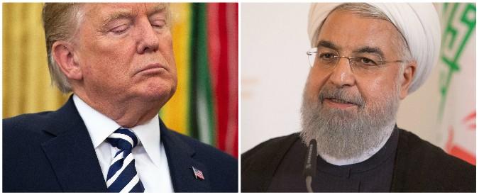 Risultati immagini per trump iran