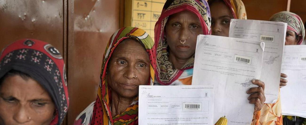 """India, quattro milioni di persone senza cittadinanza: rischio espulsione di massa. """"Discriminazione, un terzo è musulmano"""""""