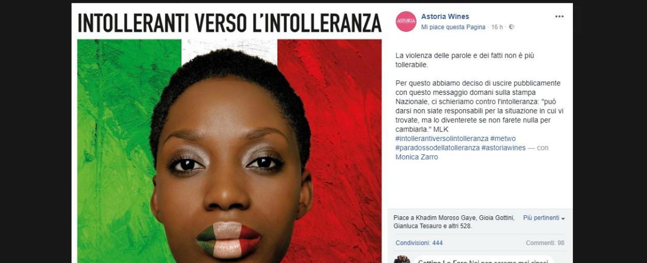 """Razzismo, azienda veneta compra pagina di quotidiani: """"Intolleranti verso l'intolleranza. Ora basta!"""""""