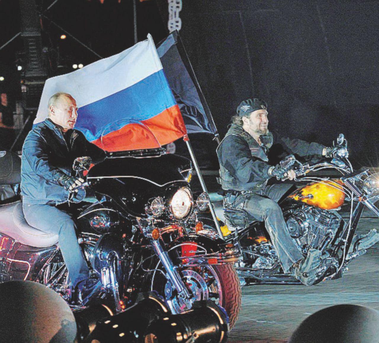 Altro che Spetsnaz, il Cremlino manda  i bikers