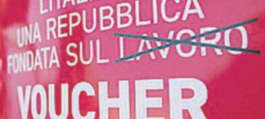 """La Cgil in piazza contro i voucher: """"No alla precarietà"""""""