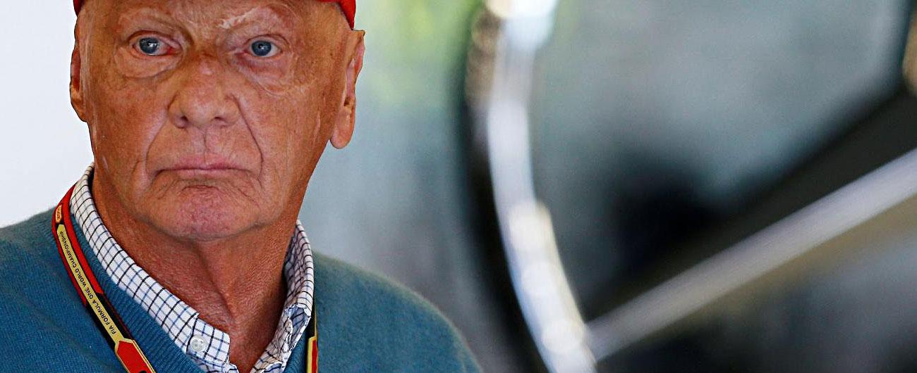 """Niki Lauda, il 69 ex pilota austriaco operato a Vienna: """"Trapianto di polmone dopo grave patologia"""""""