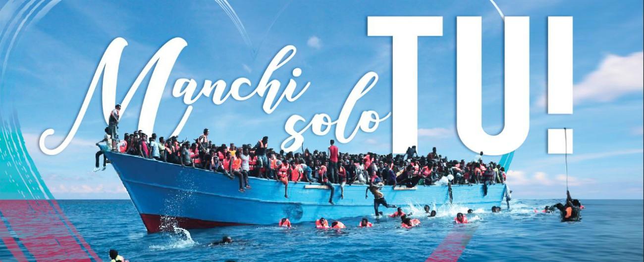 Migranti, in arrivo al Viminale le 10mila cartoline per la campagna di denuncia contro le morti in mare