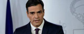 Spagna, il premier Pedro Sanchez annuncia: elezioni anticipate il 28 aprile