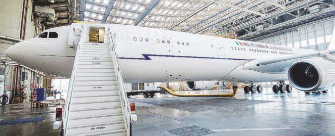 Air Force Renzi, il ministro Trenta straccia il contratto: paga Alitalia