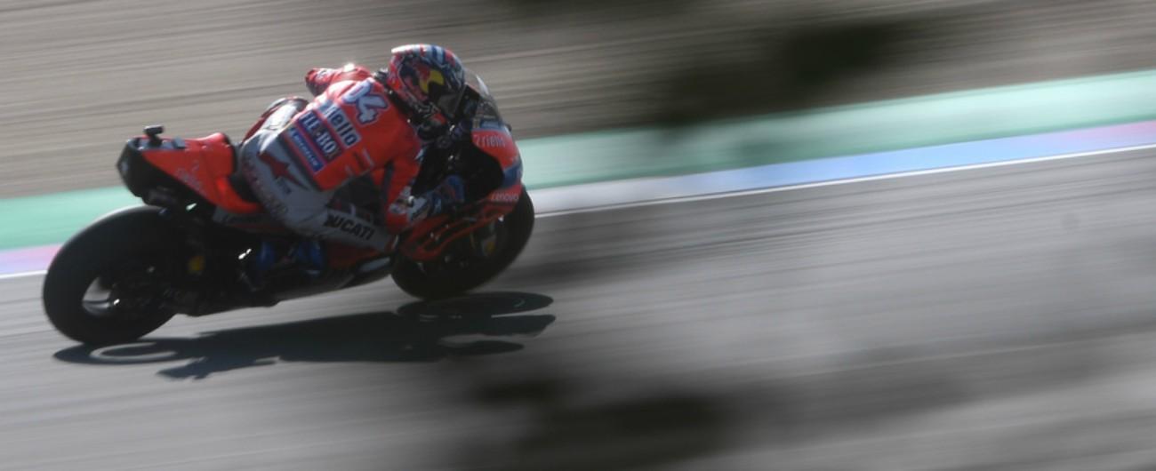 MotoGp Repubblica Ceca, le qualifiche: prima fila con Dovizioso, Rossi e Marquez