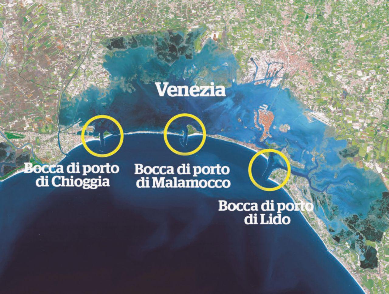 """Un'opera senza fondo per """"salvare"""" la Laguna"""