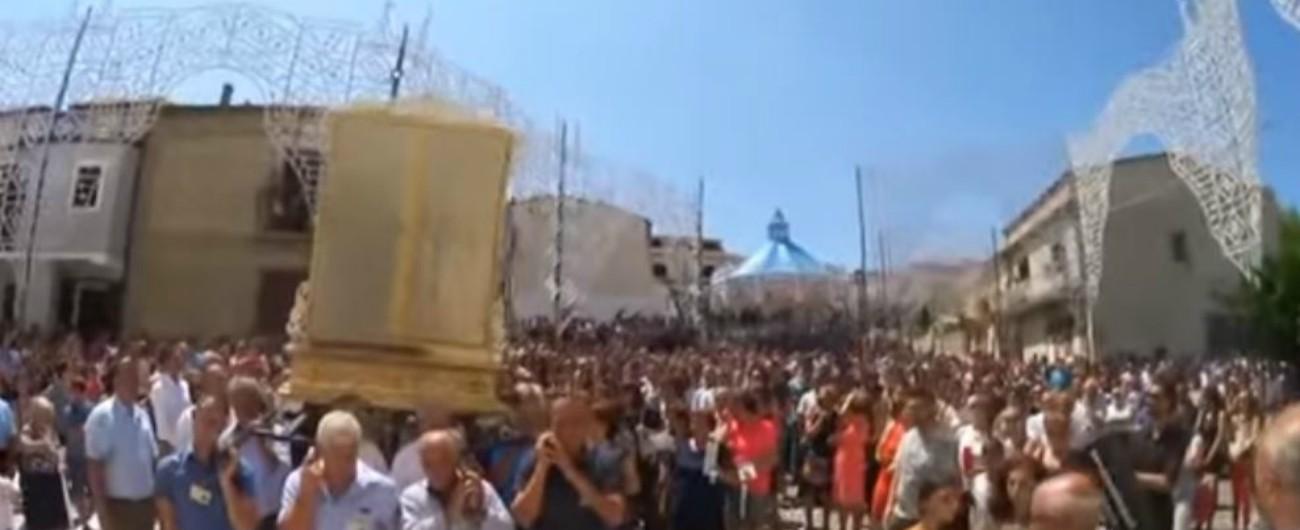 """Vibo Valentia, boss vuole """"portare"""" l'effige della """"Madonna della Neve"""": i carabinieri bloccano la processione"""