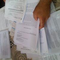 I documenti e i carteggi con il Comune