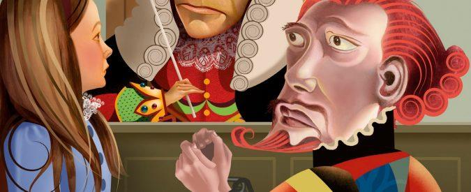 Lewis Carroll, in tribunale con Alice. Il Paese delle meraviglie ci spiega come funziona la nostra (in)giustizia