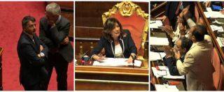"""Vaccini, scontro al Senato tra Casellati e gruppo Pd sul verbale e sui tempi: """"Non siamo a scuola"""", """"Forse dovreste andarci"""""""