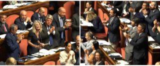 """Vaccini, Rizzotti (FI) contro il governo: """"Si vergogni, non si gioca su salute dei bambini"""". Standing ovation dei senatori Pd"""