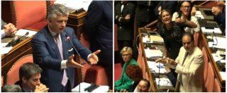 """Senato, Pd-FI vs Taverna per il presunto """"vaffa"""": """"Non deve condurre Aula"""". Lei si difende, Casellati: """"Nessuno sconto"""""""