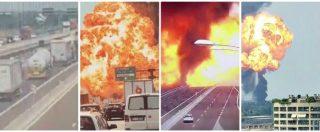 """Incendio tangenziale Bologna, aperta un'inchiesta per disastro colposo e omicidio: """"Forse un colpo di sonno"""""""